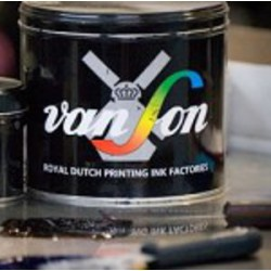 Van Son rubber base plus ink