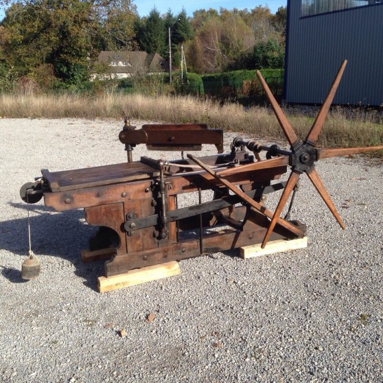 French litho hand press Voirin