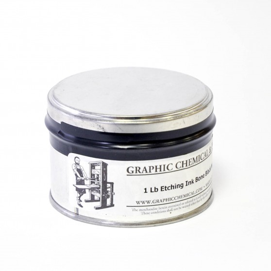 Encre taille-douce Graphic Chemical noire