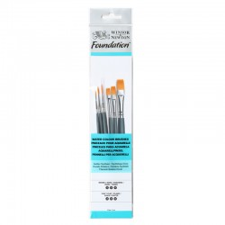 Winsor & Newton brushes in pack