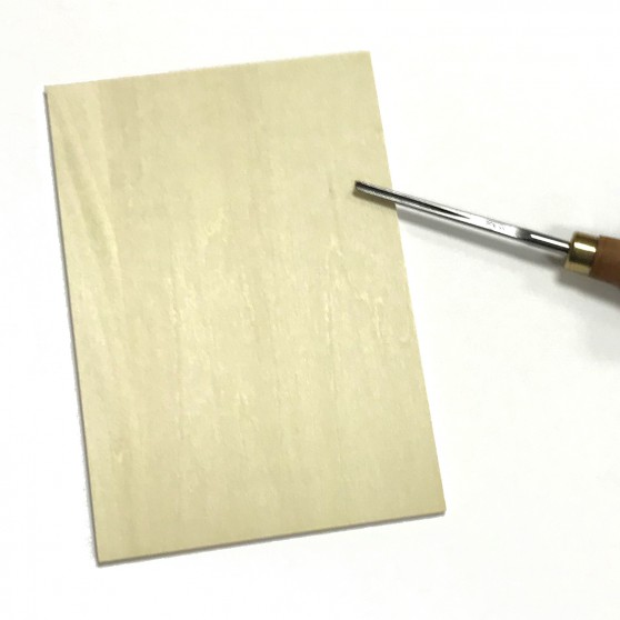 Japanese plywood 11x16cm