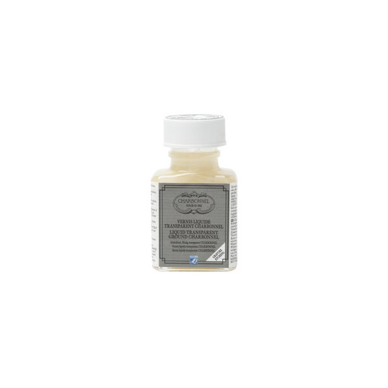 Transparent liquid retouching ground 75ml