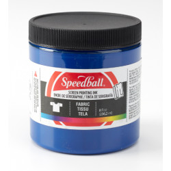 Speedball fabric silkscreen process ink cyan